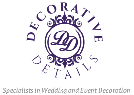 Gloucestershire Based Wedding and Event Decoration Specialists - Decorative Details