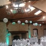 Wedding and Event Decoration Hire Gloucestershire Lanterns and Pom Poms