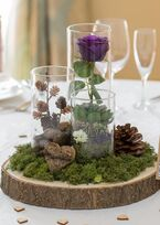Wedding and Event Venue Decoration Hire Gloucestershire Vintage and Rustic Centrepieces